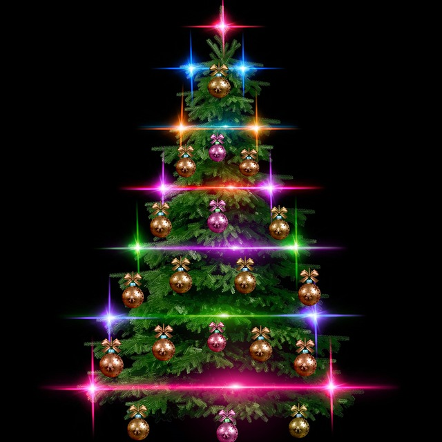 Fir, Christmas, Jouyex Christmas, Festival, New Year