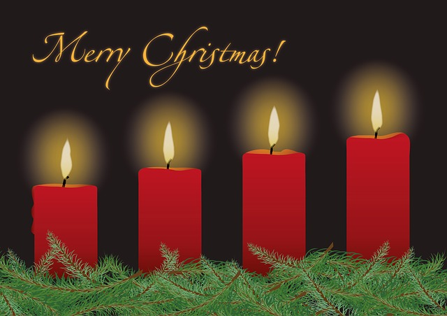 Advent, Advent Wreath, Candles, Christmas, Fir Green