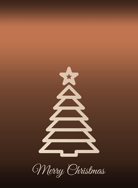 Christmas, Fir Tree, Background, Greeting Card