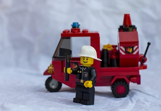 Firemen, Fire, Firefighters, Vvf, Lego, Axe