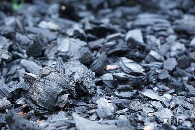 Charcoal, Fire, Briquettes, Old Fire, Bonfire
