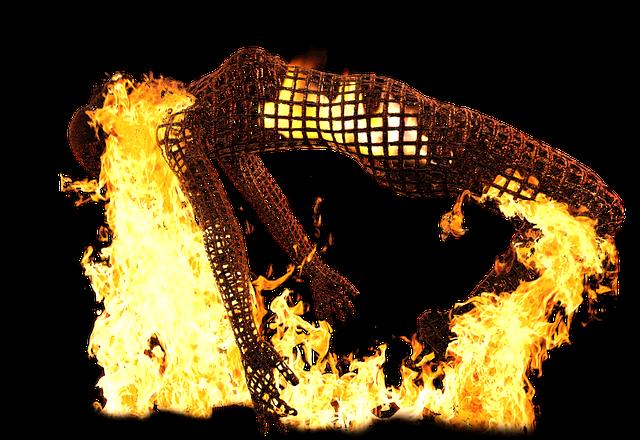 Burnout, Powerless, Sculpture, Sleep, Thoughts, Fire