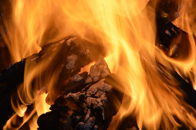 Fire, Coal, Yellow, Environment, Wood, Warm, Barbecue