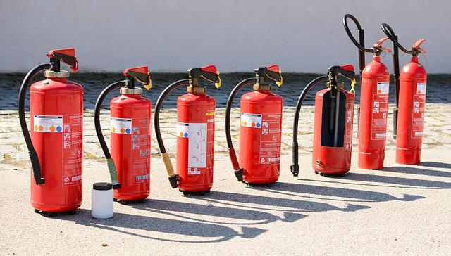 Fire Extinguisher, Fire, Fire Extinguishing