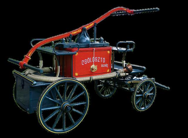 Fire, Extinguishing Pump, Extinguishing Hoses