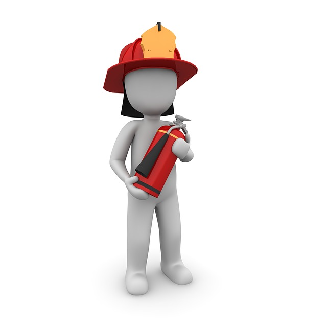 Fire Fighter, Fire Extinguisher, Fire Fighting