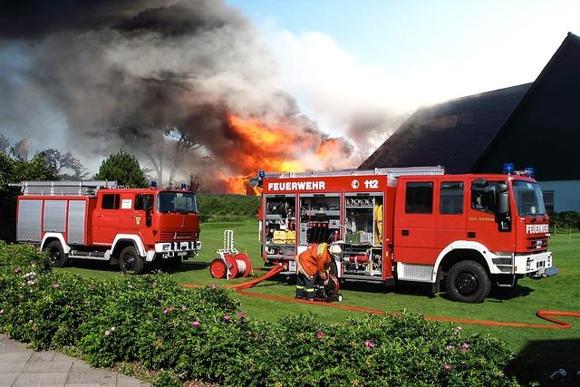 Fire, Firefighting Job, Fire Fighting, Fire Truck