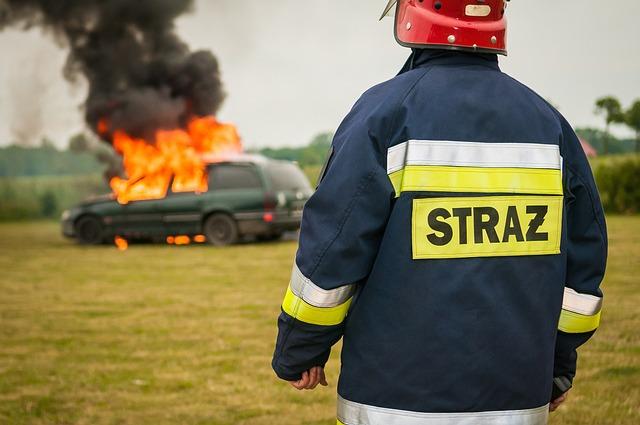 Firefighter, Extinguish, Fire, Extinction