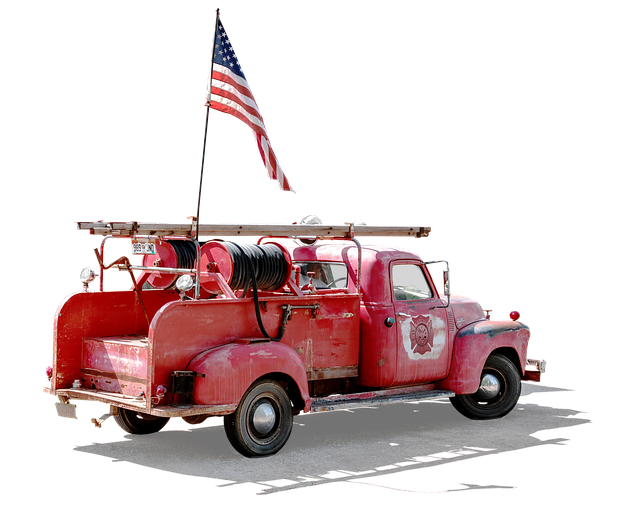 Fire, Chevrolet, Fire Truck, Free And Edited, Usa