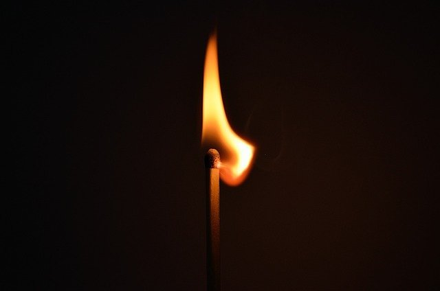 Matchstick, Fire, Light, Striking, Ignition, Heat