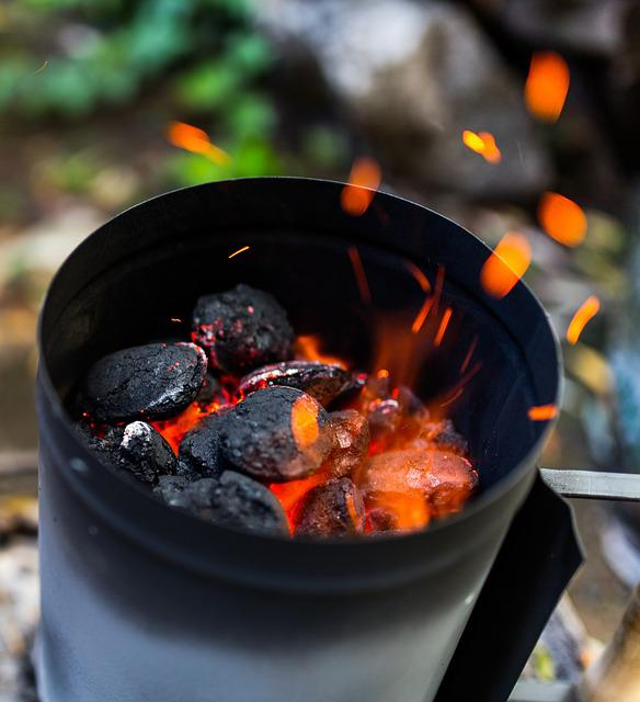 Grill, Barbecue, Bbq, Charcoal, Fire, Hot Flame