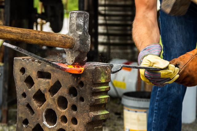 Forge, Blacksmith, Hammer, Iron, Fire, Craft, Embers