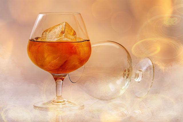 Brandy, Alcohol, Smoke, Fire, Lighting