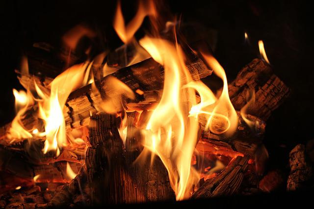 Fire, Campfire, Burn, Flame, Lighting, Smoke, Wood