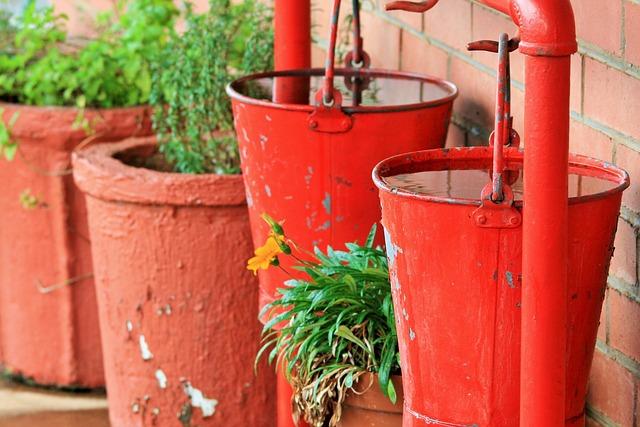 Bucket, Water, Extinguish, Precaution, Fire, Liquid