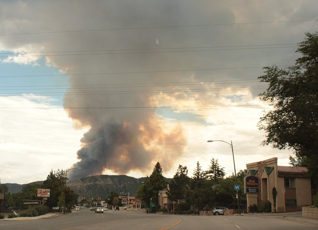 Fire, Wildfire, Durango, Usa