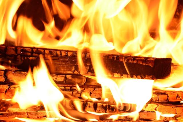 Fire, Flame, Wood Fire, Brand