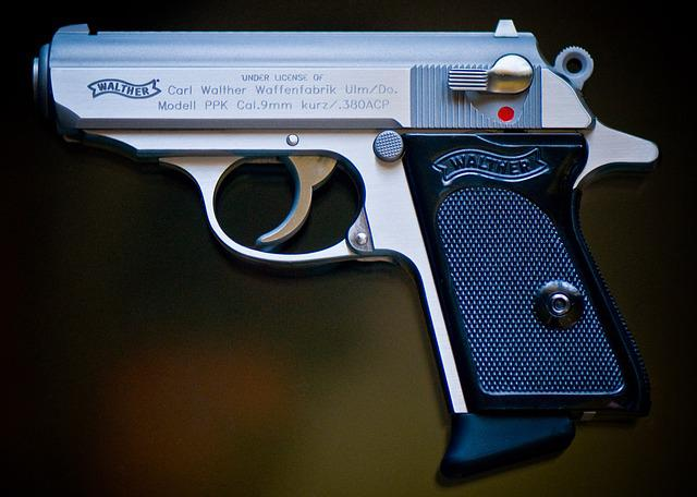 Gun, Firearm, Pistol, 380, Walther, Ppk, Smith Wesson