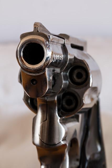 Firearm, Handgun, Revolver, Gun, Weapon, Danger