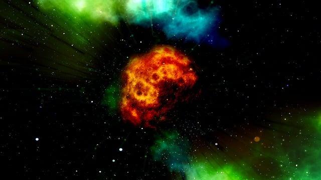 Fireball, Asteroid, Explosion, Disaster, Devastation