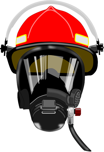 Breather, Defense, Firefighter, Fireman, Helmet