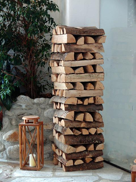 Trees, Brown, Firewood, Fire, Grove, Wood, Holzstapel