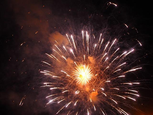 Fireworks, Fair, Light, Folk Festival
