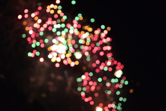 Bokeh, Flame, Yeouido, Yeouido Fireworks, Fireworks
