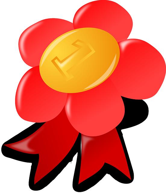 Award, First, Winner, Prize, Accolade, Badge