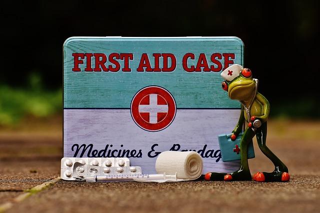 First Aid, Frog, Medic, Nurse, Funny, Box, Tin Can