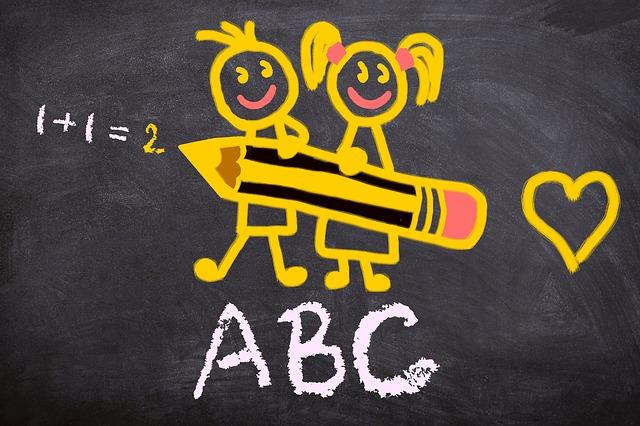 Back To School, Abc, School Enrollment, First Class