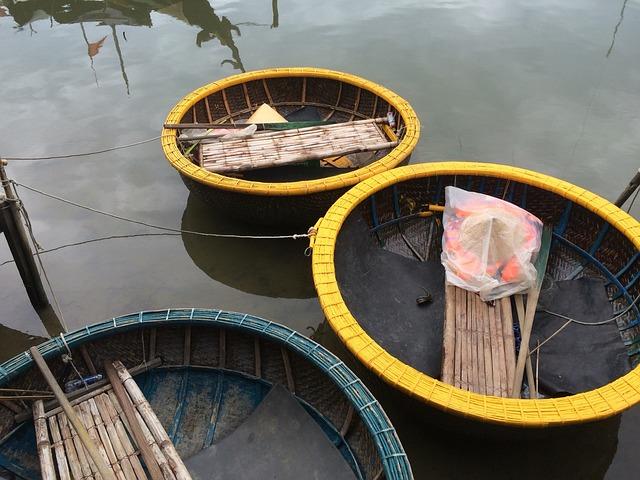 Vietnam, Boats, Fischer, Mekong River, River