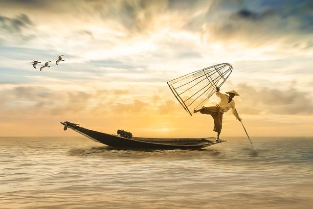 Fischer, Fishing Boat, Boot, Fish, Sea, Water, Lake