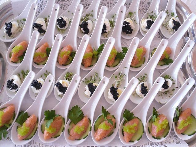 Fish, Salmon, Caviar, Eating, Food, Tsp