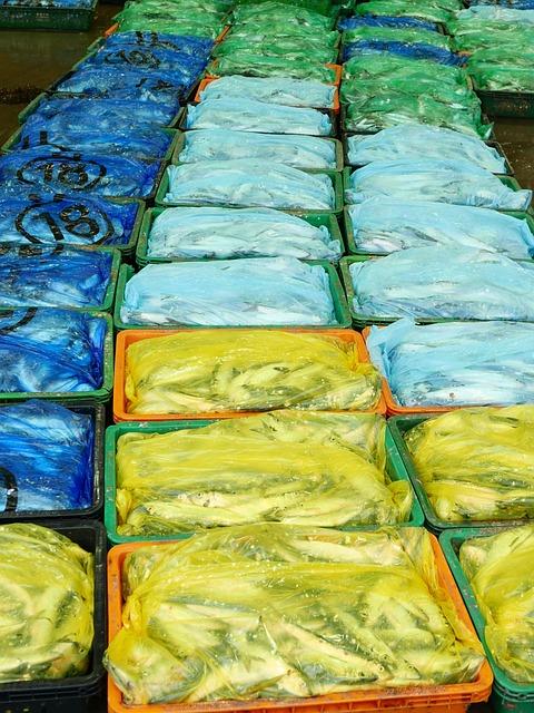 Fish, Plastic, Packing