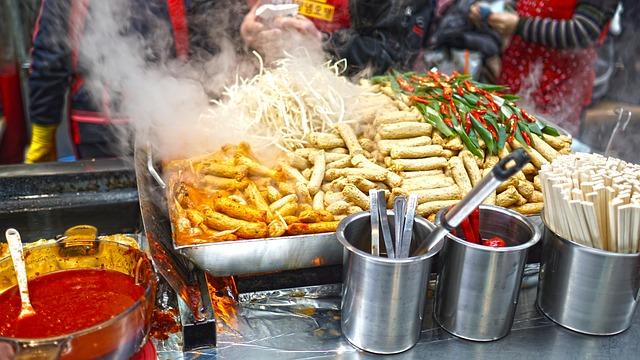 Market, Market Introduction, Oden, Fishcake