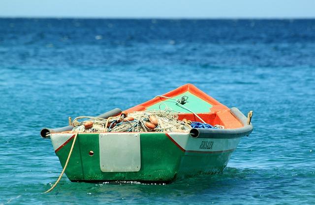 Boat, Fishing, Tropic, Ocean, Fisherman, Blue Sea