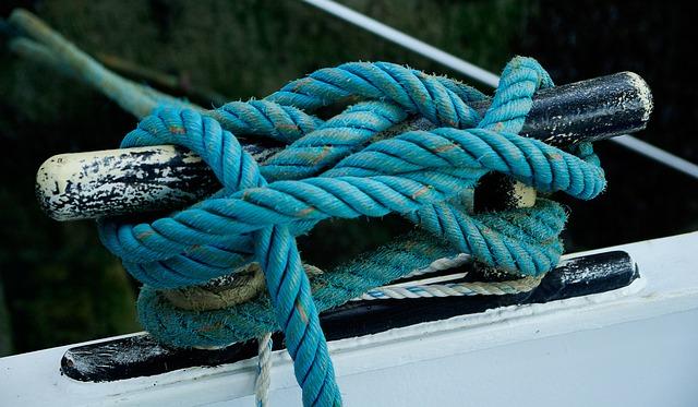 Boat, Rope, Node, Fisherman Boat