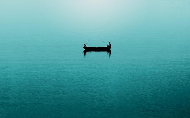 Boat, Fisherman, Fishing, Ocean, People, Sea