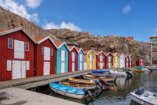 Fisherman's Hut, Hut, House, Woodhouse, Swedish House