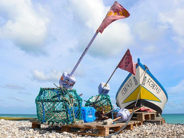 Flag, Fishing, Traditional Fishing, Fishermen, Net
