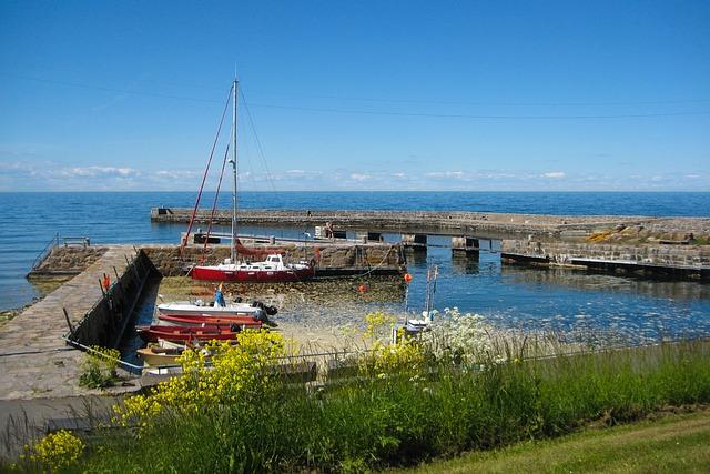 Fishing Port, Fishing Boats, Mole
