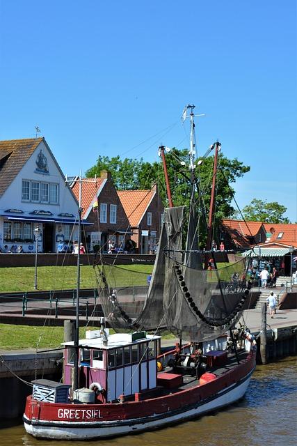 Greetsiel, Fishing Boat, East Frisia, Port, Fishing
