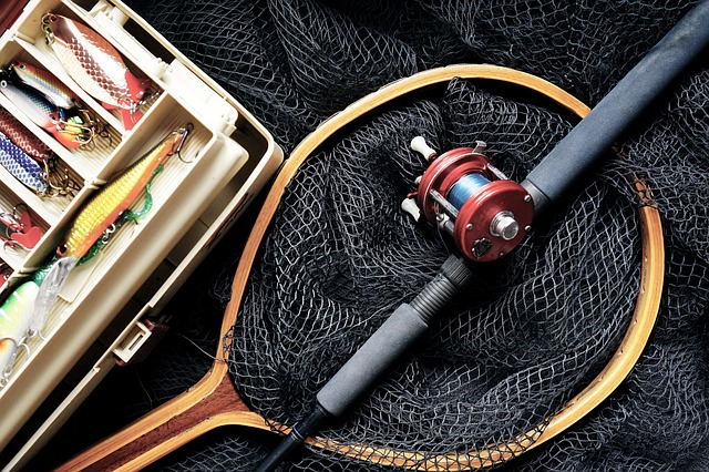 Fishing, Fishing Rod, Fishing Lures, Fishing Box, Rod