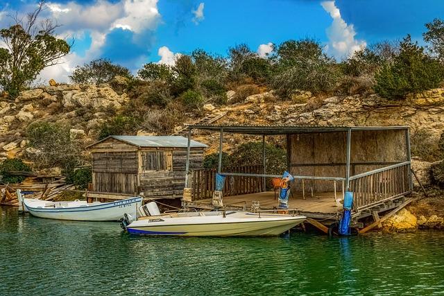 Fishing Boats, Hut, Dock, Fishing Shelter, Picturesque