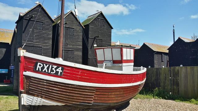 Hastings, East Sussex, Seaside Resort, Fishing Village