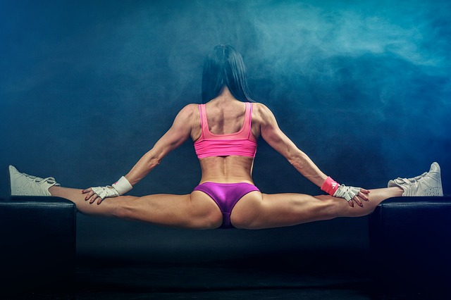 Balancing Act, Splits, Fitness, Girl, Bodybuilding