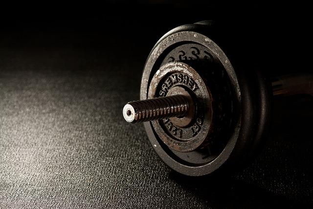 Fitness, Weight, Dumbbell, Fitness Studio