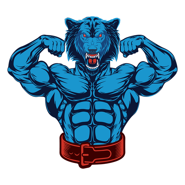 Bodybuilder, Wolf, Fitness, Gym, Workout, Healthy