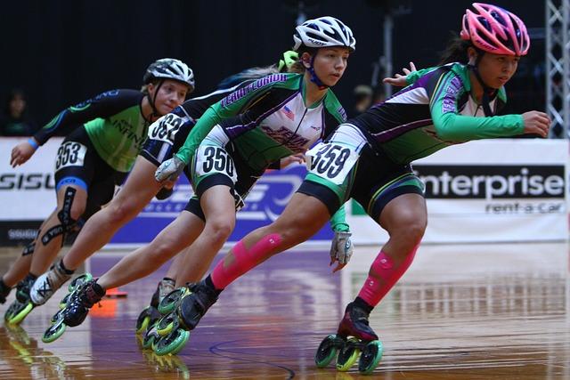 Inline Speed Skating, Roller Speed Skating, Fitness